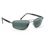 Maui Jim Kahuna Sunglasses, Gray Frames with Neutral Gray Lenses