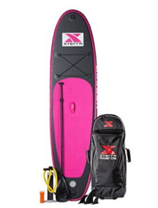 """Xterra Inflatable 10' Stand Up Paddle Board Premium SUP Bundle 
