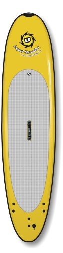 Liquid Shredder Paddleboard Softboard, Yellow, 7-Feet 5-Inch
