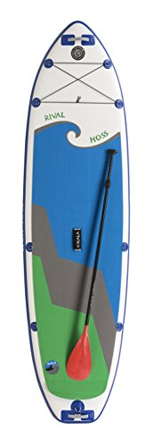 Hala Rival Hoss 11'0″ SUP Inflatable Stand Up Paddle Board Package