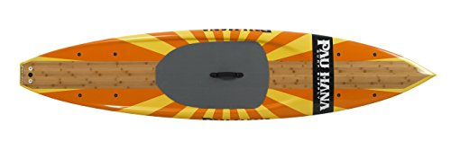 Pau Hana Mini Sport Stand Up Paddle Board, 10-Feet 10-Inch, Orange