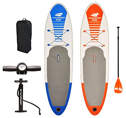 PathFinder Inflatable SUP Stand Up Paddleboard 9′ 9″ (5″ Thick)